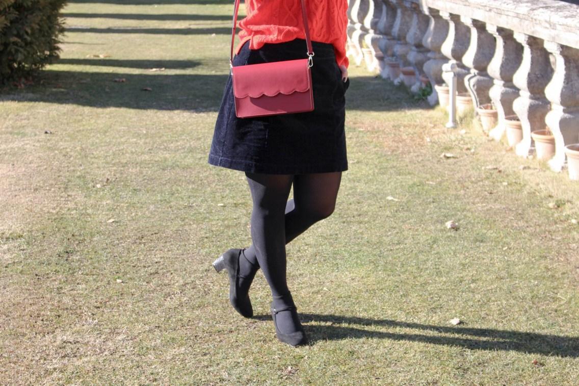 pull rouge torsade pimkie solde look hiver 12 mademoiselle e