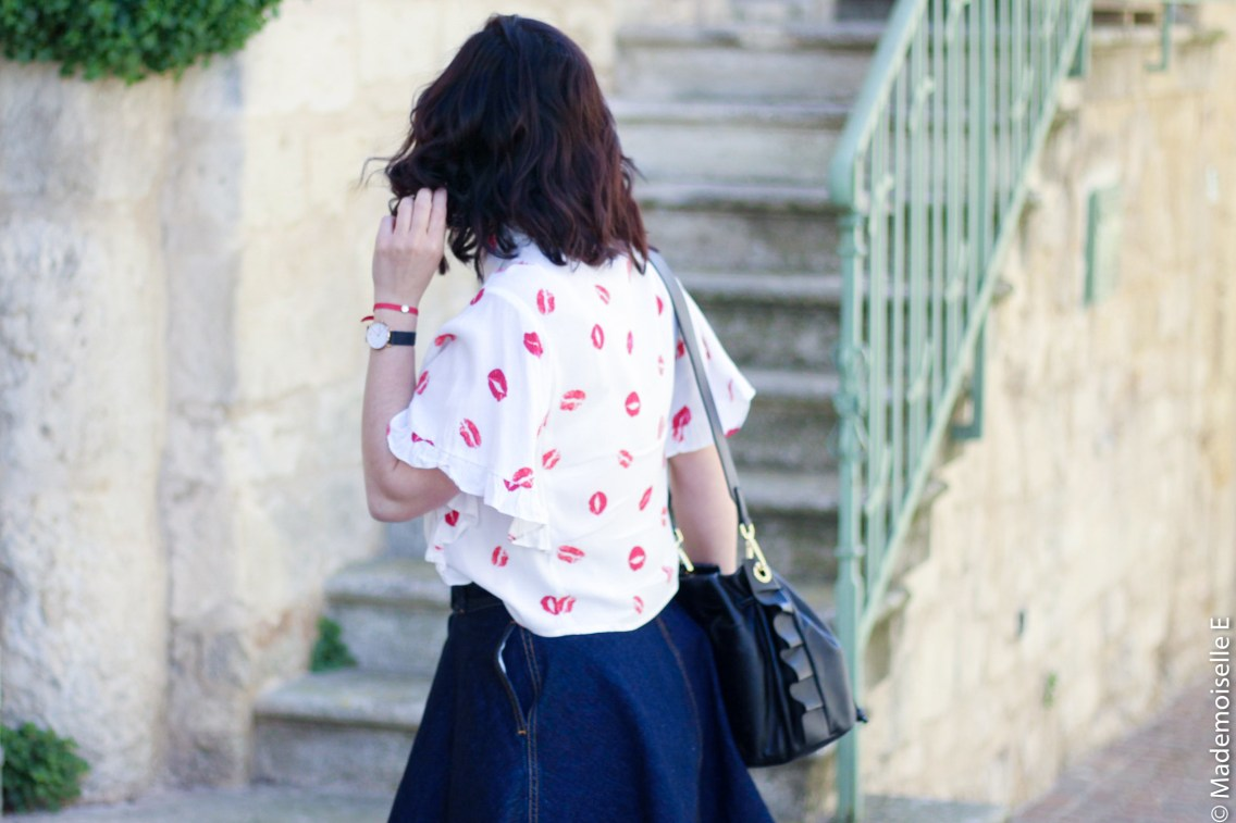 imprimé bisous chemise forever 21 8 mademoiselle-e