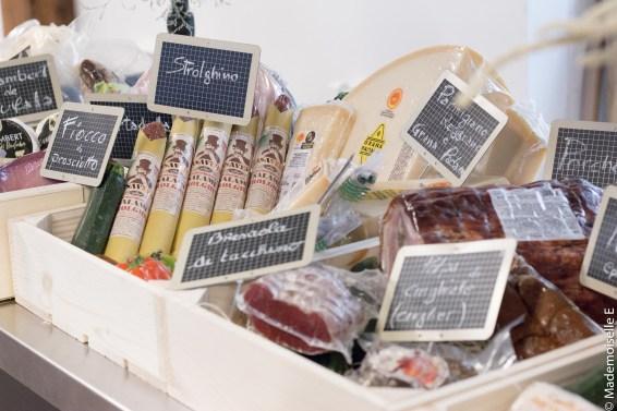 Poulette Sun Party produits food italy mademoiselle-e