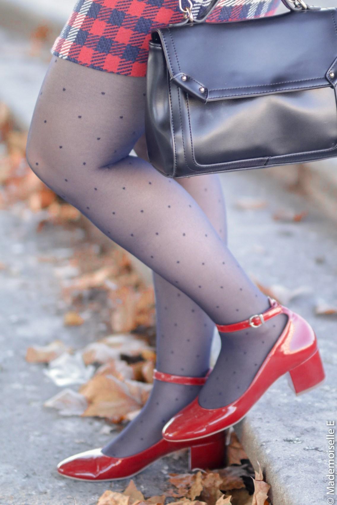 Blazer x jupe à carreaux 31 mademoiselle-e