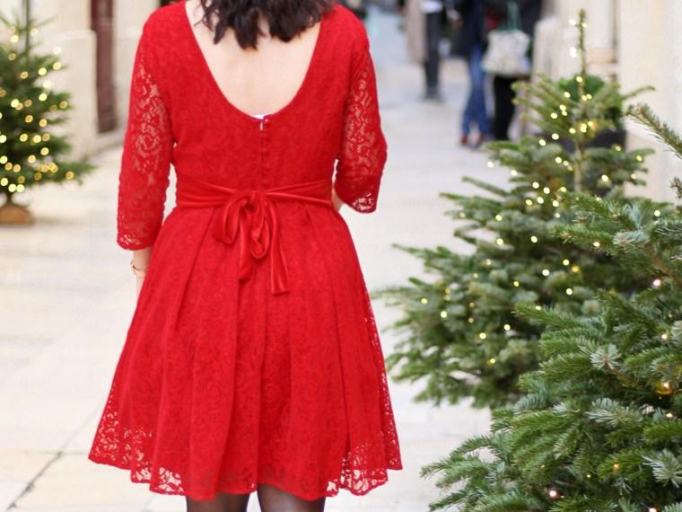 Robe rouge look de noel 13 mademoiselle-e