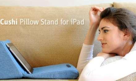 Un coussin pour iPad