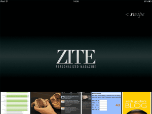 App Zite iPad splash