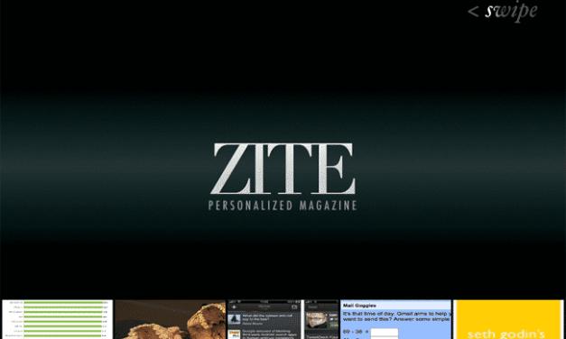 Zite : un magazine à votre image