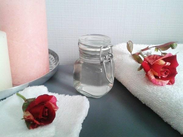 hydrolat de rose maison