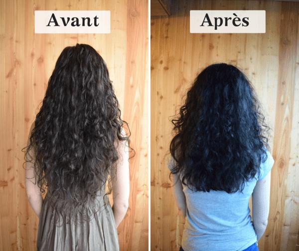 routine cheveux naturel fait maison