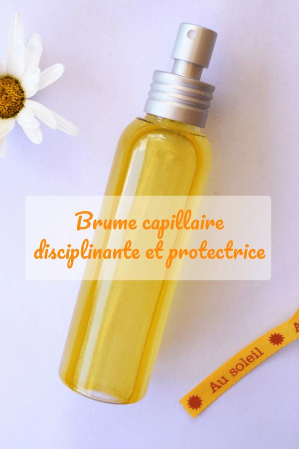 Brume capillaire disciplinante et protectrice joliessence