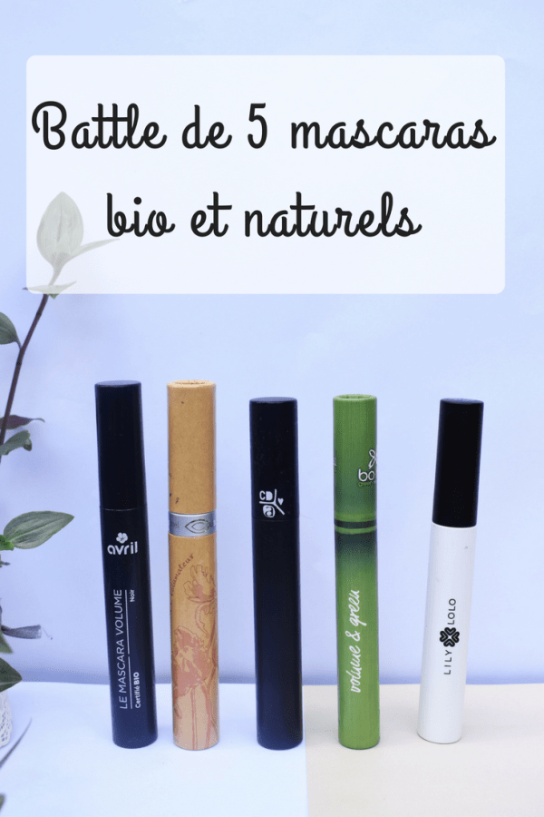 battle de mascara bio et naturel