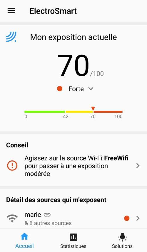applications smartphone mode de vie green