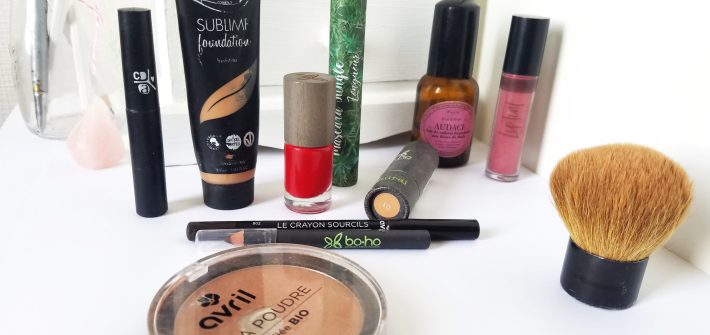 maquillage bio naturel et slow
