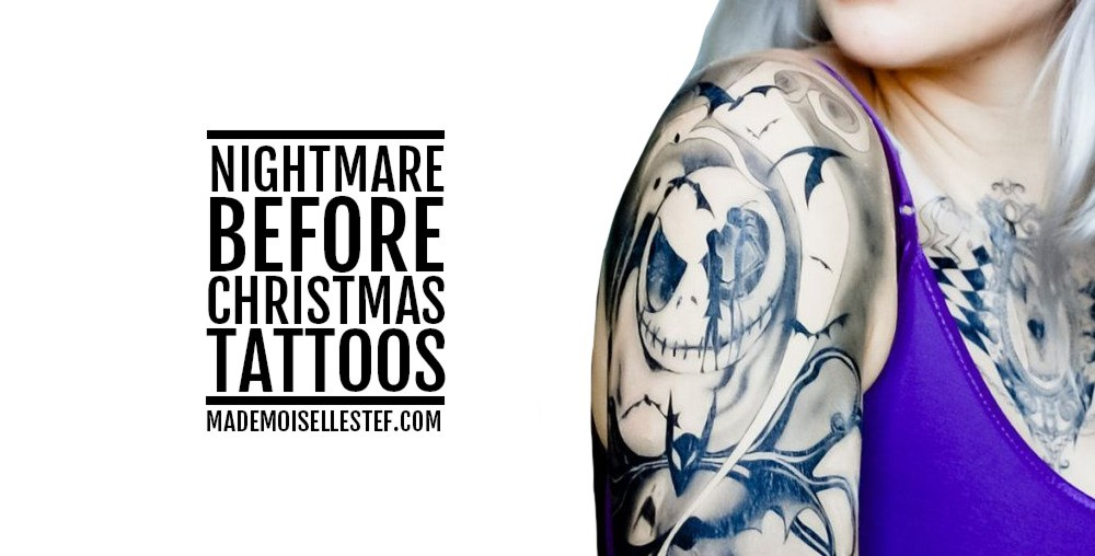 tattoo halloween nightmare before christmas