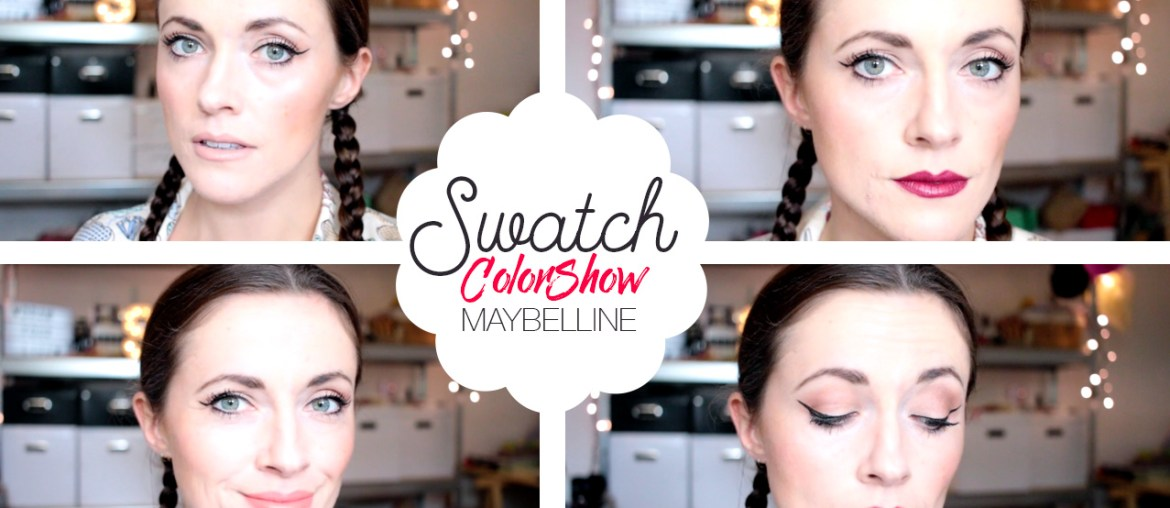 swatch colordrama maybelline