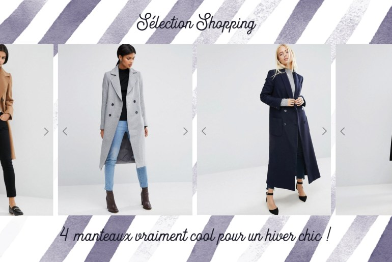 selection shopping manteaux hiver