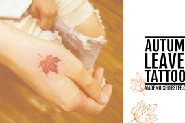 tattoo idea autumn leaves