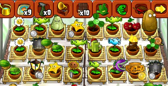 plants vs zombies jardin zen