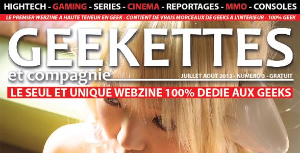 [Les Gens du Web] Kristen, fondatrice du webzine Geekettes & Cie