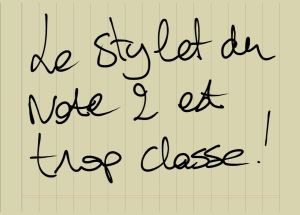 stylet galaxy note II