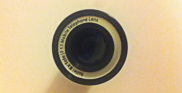 [Test produit] Le téléobjectif iPhone 4 Rollei zoom x8