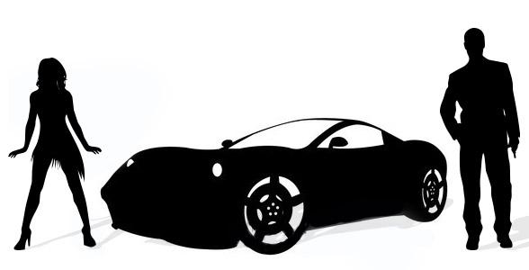 Les mecs, la drague et les voitures