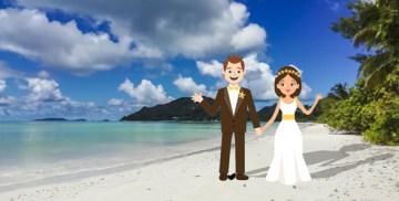 mariage plage paradisiaque