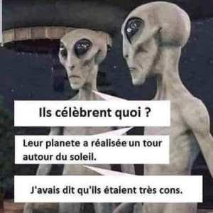 bonne année extraterrestres