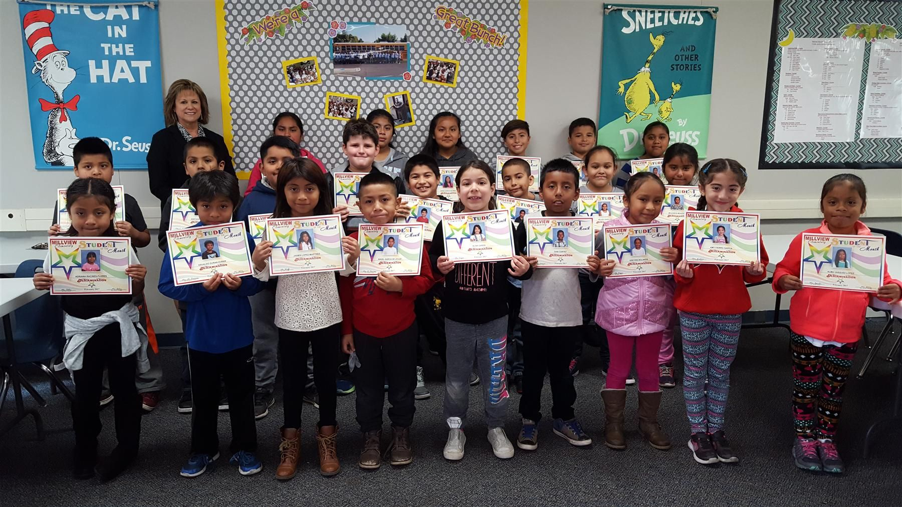 Students of the Month  February