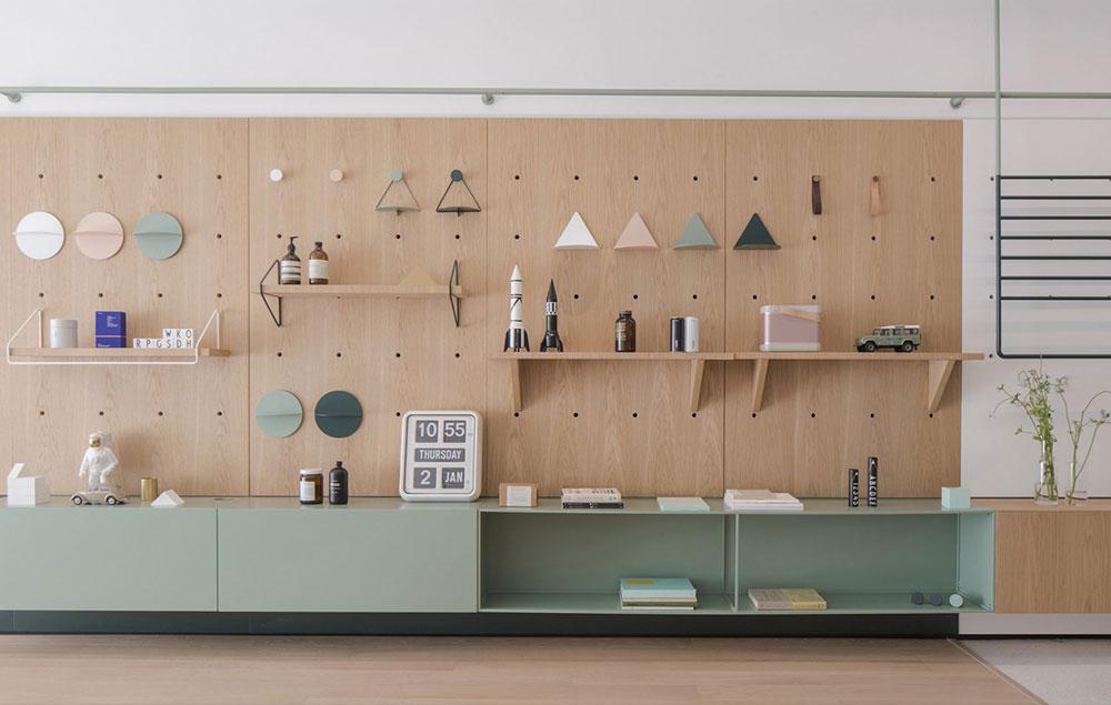 Muebles modulares de RIGI Design para una casa en Shanghai