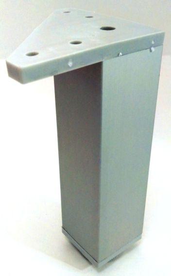 Pata de Aluminio Cuadrada
