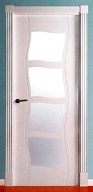 Puerta Lacada Modelo ONDA LP 4VC