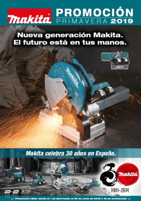 Ofertas Makita Primavera 2019