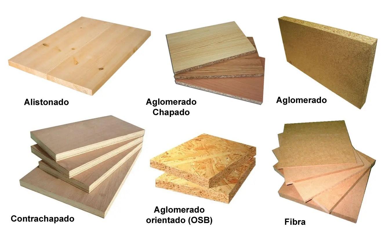 tipos de tablero de madera  Maderea