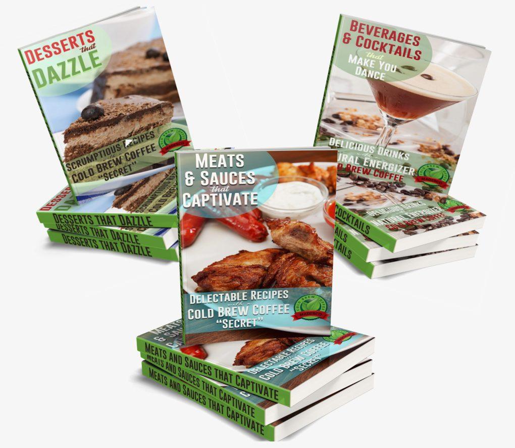 Madesco Cold Brew Recipe Books