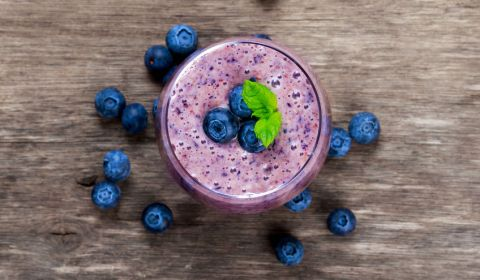 Blueberry Coffee Shake