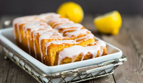 Lemon Chai Coffee Cake