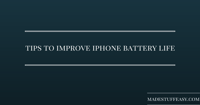 iphone battery life tips