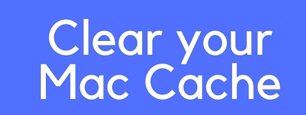 delete cache files from macbook