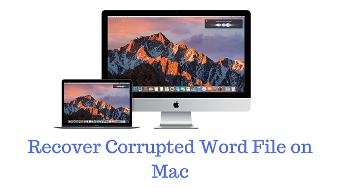 recover corrupted word file on Mac