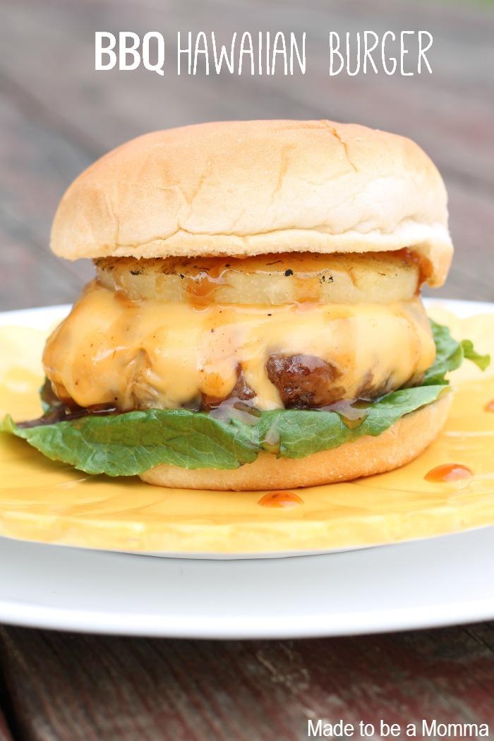 BBQ Hawaiian Burger