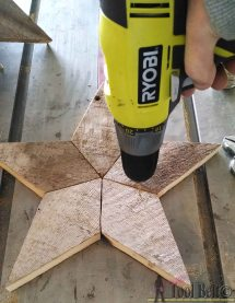 Patchwork Rustic Stars - Momma
