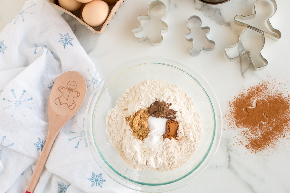 Gingerbread Muffin Ingredients