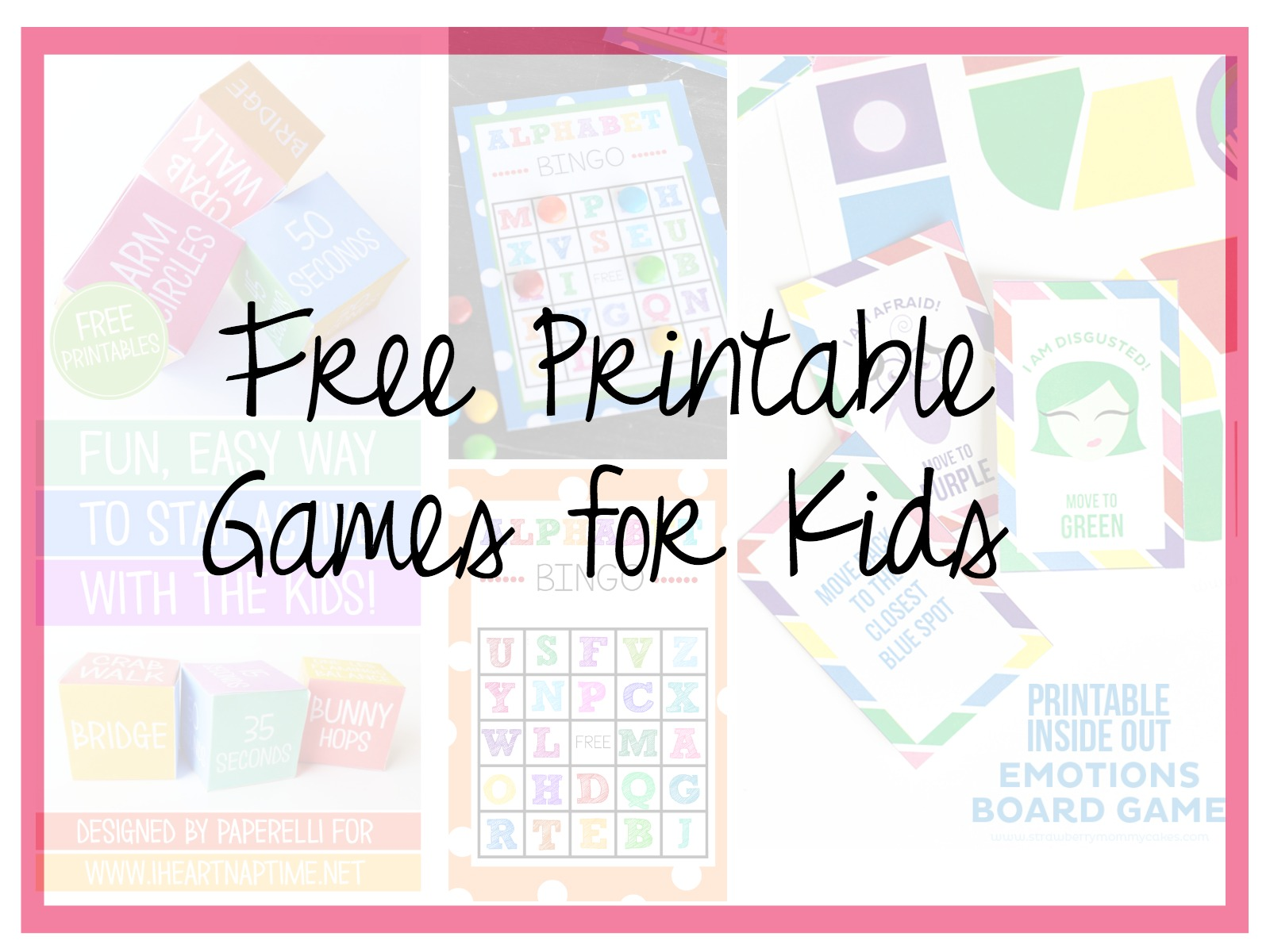 Free Printable Easter Board Games