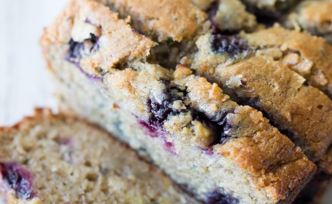 Blueberry Banana Zucchini Bread Made To Be A Momma