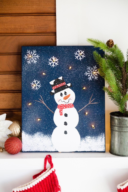 Mantel Lights Paintings