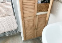 Bathroom Cabinet Makeover with Rinkit - Made Up Style