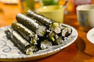 2016-12-31 Muenchen - Sushi - rollen 4
