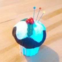 Muffin-Nadelkissen von @liashandmades