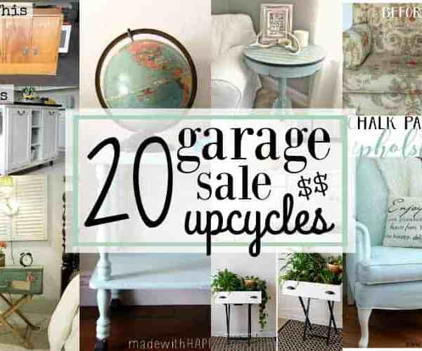 20 Garage Sale Upcycles