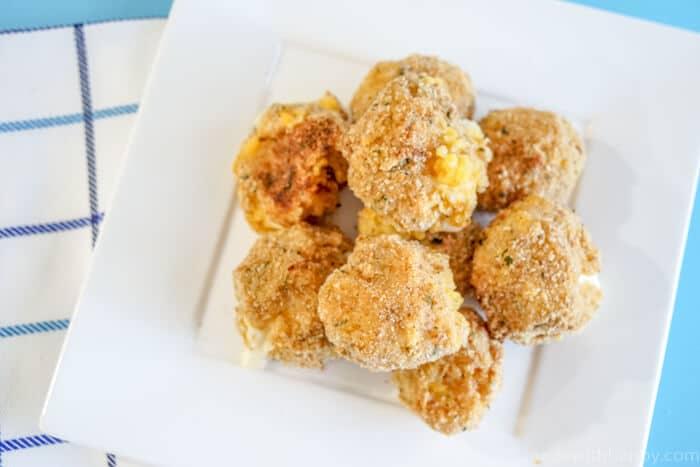 Cheesy Butternut Squash Risotto Balls