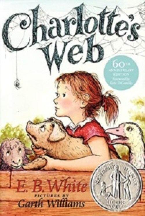 Charlotte's Web - Childhood Classic. Top 10 Chapter Books for young readers. We're sharing our top picks for young readers that are looking for some great chapter books. www.madewithhappy.com