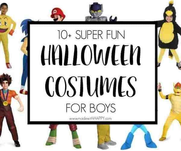10+ FUN Halloween Costumes for Boys